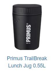 TrialBreak från Primus mattermos